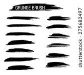 set of hand drawn grunge brush   Shutterstock .eps vector #275682497