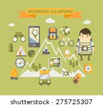 summer holiday and travel... | Shutterstock .eps vector #275725307