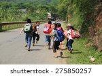 hoa binh  vietnam   may 6  2015 ... | Shutterstock . vector #275850257