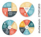 set of business circle info... | Shutterstock .eps vector #275851853
