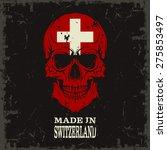 skull color of the flag | Shutterstock .eps vector #275853497