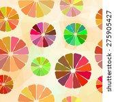 vector illustration. seamless... | Shutterstock .eps vector #275905427