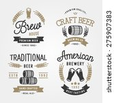 set of vintage labels  logo... | Shutterstock .eps vector #275907383