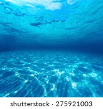 underwater shot of the sea... | Shutterstock . vector #275921003
