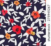 vector illustration of floral... | Shutterstock .eps vector #275945267