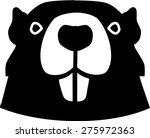 beaver head   Shutterstock .eps vector #275972363