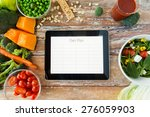 healthy eating  dieting ... | Shutterstock . vector #276059903