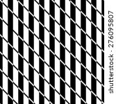 a black and white line optical...   Shutterstock .eps vector #276095807