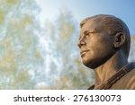 famous cosmonaut gagarin bronze ...   Shutterstock . vector #276130073