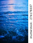 bright blue sea water waves... | Shutterstock . vector #276178337