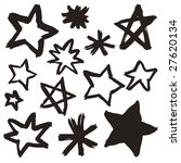 the various stars which i drew...