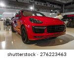 Постер, плакат: Porsche Cayenne GTS shown