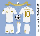 Soccer Uniform Template For...