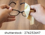 cleaning glasses | Shutterstock . vector #276252647