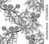 abstract elegance seamless... | Shutterstock . vector #276260813