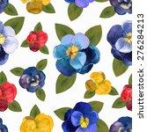 vector illustration of floral... | Shutterstock .eps vector #276284213