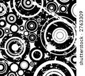grunge circles illustration ... | Shutterstock .eps vector #2763309