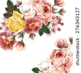 bridal background with... | Shutterstock .eps vector #276343127