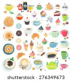 Clip Art Illustrations Of Cups...