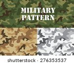 Military Camouflage Pattern ...