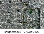 Old Stone Castle Wall Texture...