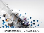 new future technology concept... | Shutterstock .eps vector #276361373