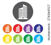 building vector icon set | Shutterstock .eps vector #276364517