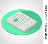 vector isometric flat color...