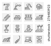 vector icon of robot or robotic ... | Shutterstock .eps vector #276483923