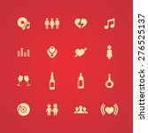 bar icons universal set for web ... | Shutterstock .eps vector #276525137
