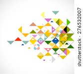 abstract colorful and creative... | Shutterstock .eps vector #276532007