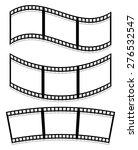filmstrips isolated on white... | Shutterstock .eps vector #276532547