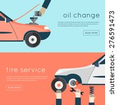 changing the oil in your car ...   Shutterstock .eps vector #276591473