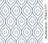 geometric ornament. seamless...   Shutterstock .eps vector #276611777