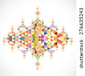 geometric pattern thai... | Shutterstock .eps vector #276635243