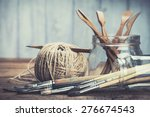Art And Craft Tools. Artist's...