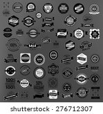 set of retro vintage labels ... | Shutterstock .eps vector #276712307