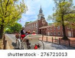 independence hall in... | Shutterstock . vector #276721013