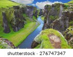 neverland iceland. the... | Shutterstock . vector #276747347