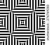 seamless square and stripe... | Shutterstock .eps vector #276769283