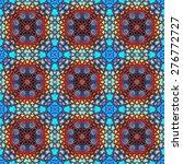 festive kaleidoscope design  | Shutterstock . vector #276772727