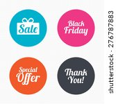 circle buttons. sale icons.... | Shutterstock .eps vector #276787883