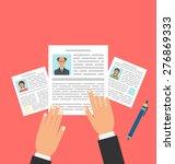 illustration concept of job... | Shutterstock .eps vector #276869333