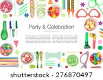 party and celebration elements... | Shutterstock . vector #276870497