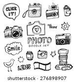 hand drawn vector illustration... | Shutterstock .eps vector #276898907