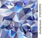 vector polygonal background... | Shutterstock .eps vector #276935993