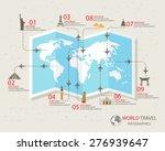 world travel info graphics... | Shutterstock .eps vector #276939647