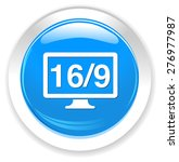 16   9 display icon | Shutterstock .eps vector #276977987