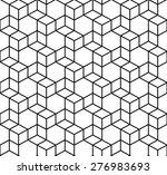 seamless geometric box pattern. ... | Shutterstock .eps vector #276983693