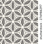 vector seamless pattern. modern ... | Shutterstock .eps vector #276986297